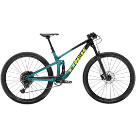 Trek Top Fuel 9.7 trek black to teal fade